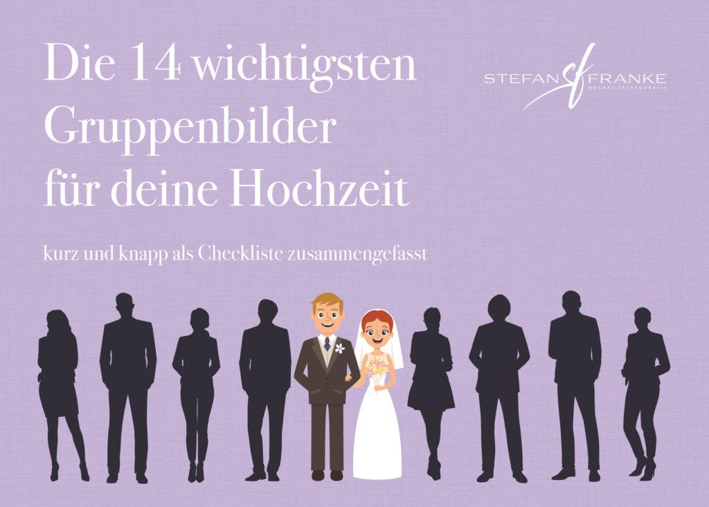 Gruppenbilder für deine Hochzeit